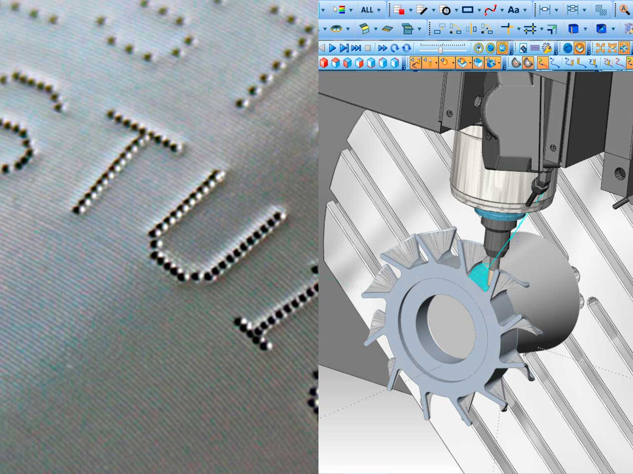 CNC marking devices - CAD-CAM stations